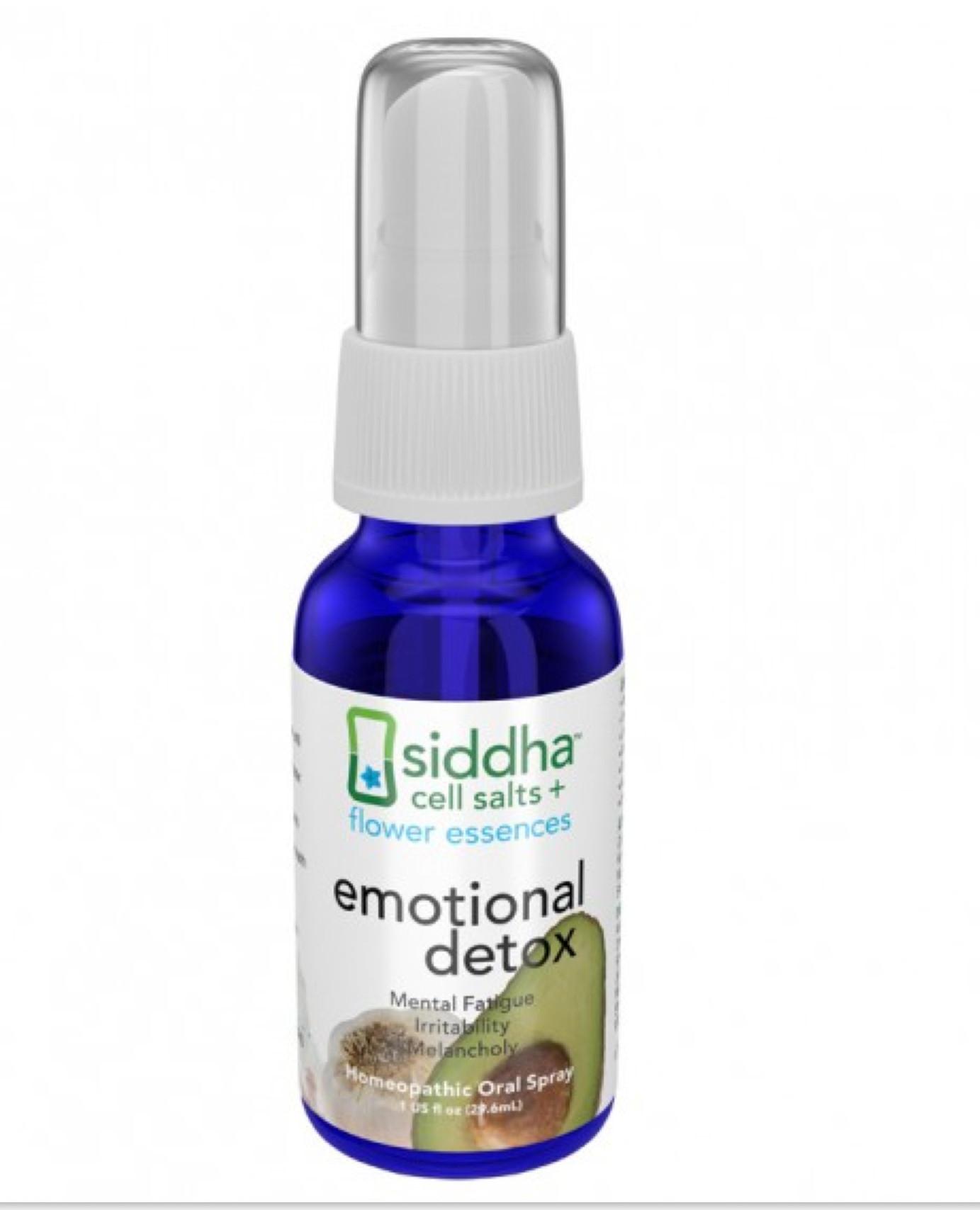 Emotional Detox  siddha flower essences